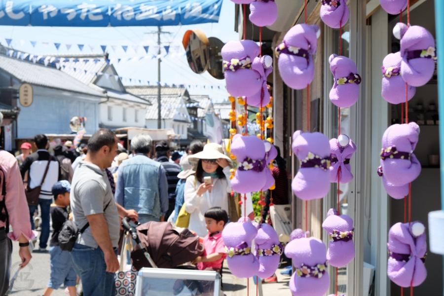 Visiting Japan's biggest porcelain festival inArita