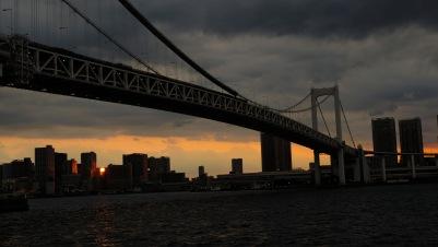 Japan Life blog recap Tokyo bay rainbow bridge