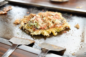 Japan Life blog recap Yakatabune okonomiyaki -11
