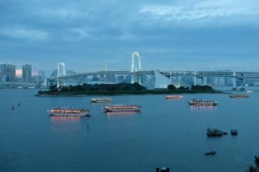 Japan Life blog recap Yakatabune Tokyo Bay Odaiba -12
