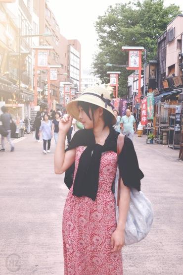 Asakusa portrait photoshooting nostalgic Tokyo-3