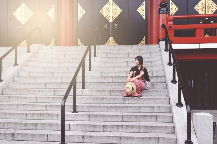 Asakusa portrait photoshooting nostalgic Tokyo-5