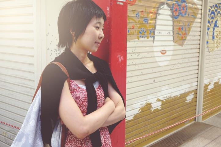 Asakusa portrait photoshooting nostalgic Tokyo-7
