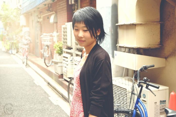 Asakusa portrait photoshooting nostalgic Tokyo