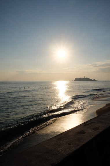 kamakura-enoshima-beach-ocean-sunset-6
