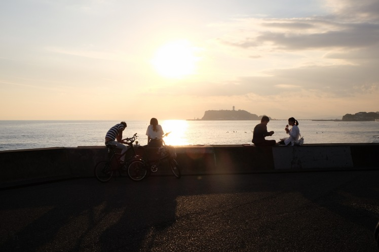 kamakura-enoshima-beach-ocean-sunset-8