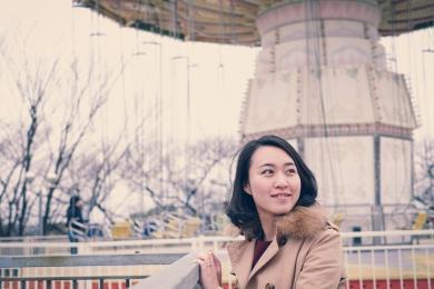 Amusement park portrait photo shoot Tokyo-27