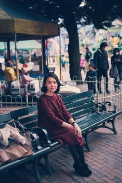 Amusement park portrait photo shoot Tokyo-7