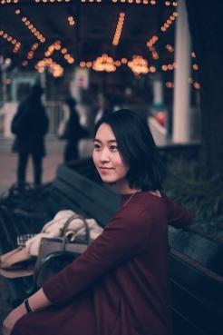 Amusement park portrait photo shoot Tokyo-9