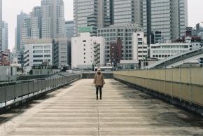 Analogue Photography Tokyo Shinjuku Sakura-5