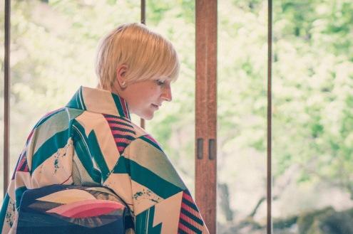 Kawagoe Japan vintage Kimono-11