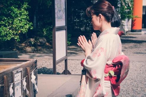 Kawagoe Japan vintage Kimono-5