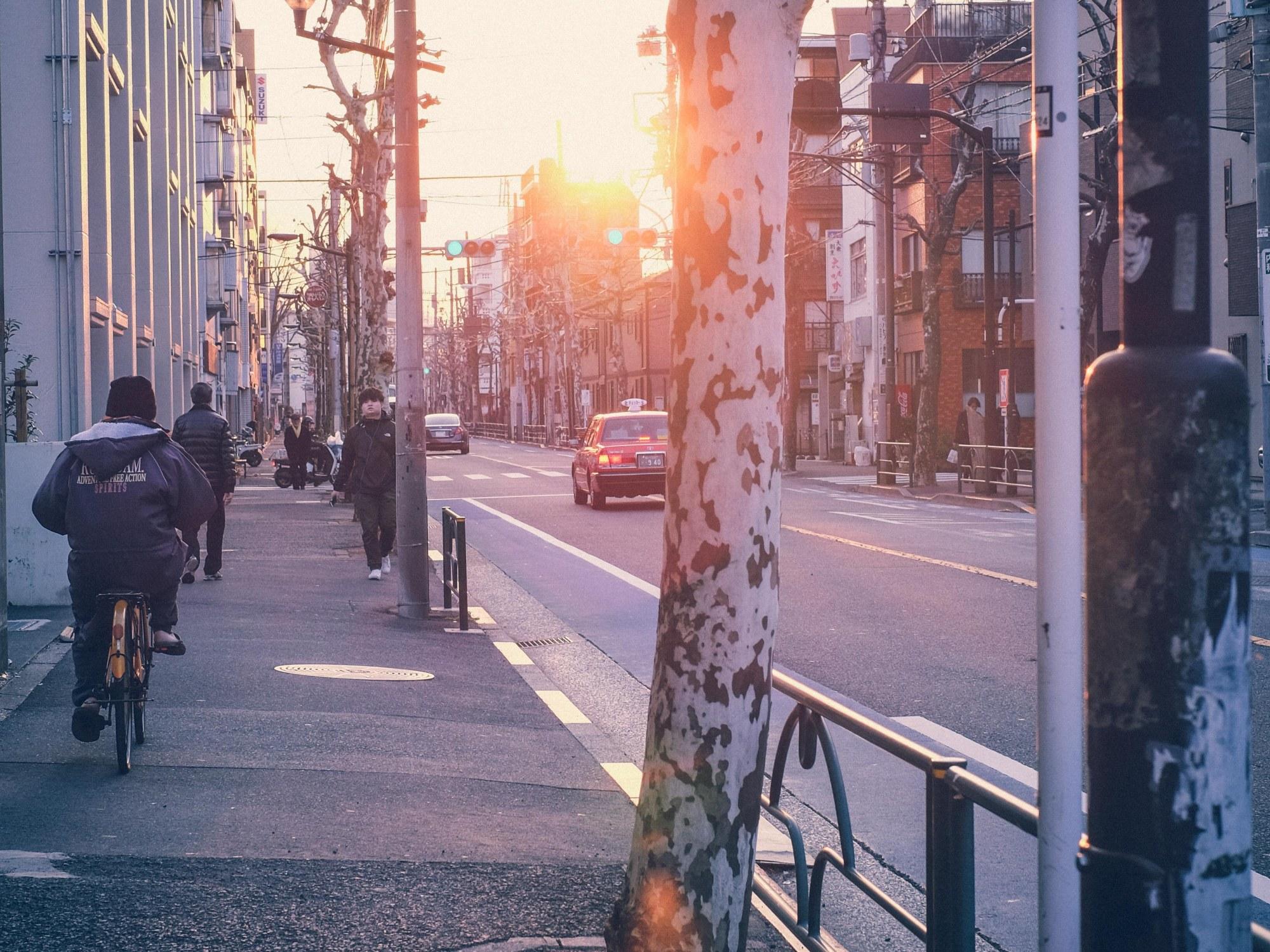 Tokyo nostalgic street photography