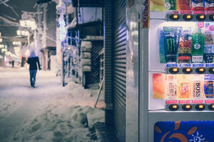 Snowing in Tokyo Schnee