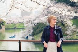 Sakura cherry blossoms Japan Tokyo Chidorigafuchi-2