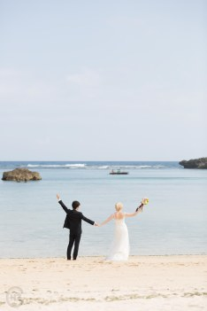 Traumhochzeit dream wedding Miyakojima beach Japan