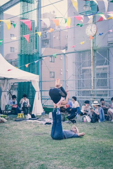 Acro Yoga Tokyo Organic