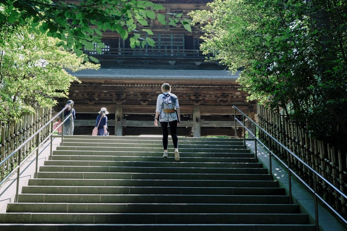 Vor dem Regen: Kamakura