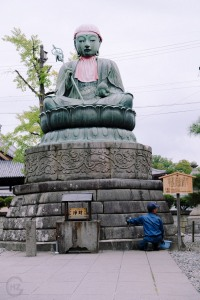 Hakuba Nagano Japan Sightseeing Zenkoji temple