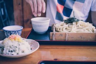 Shikoku Tokushima udon Japanese food