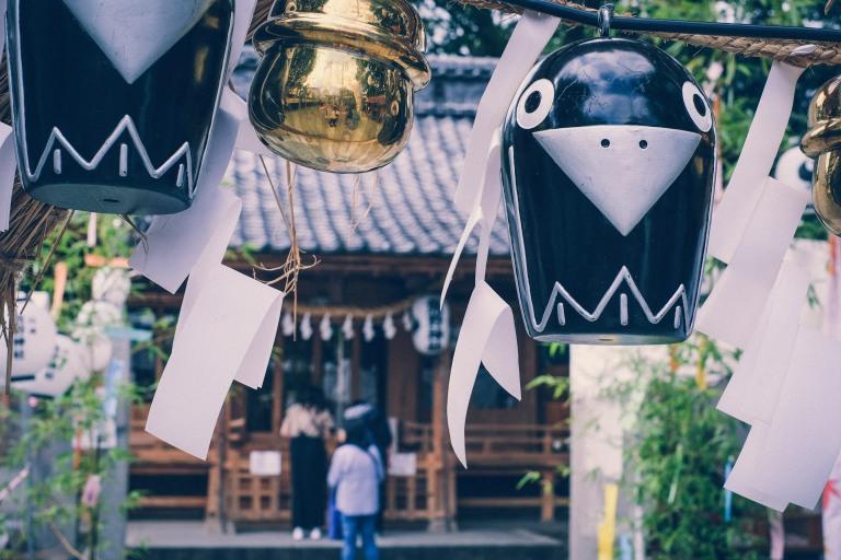 Kawagoe Japan Sightseeing Tempel Nostalgie