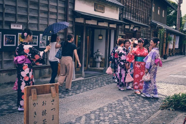 Kawagoe Japan Sightseeing Yukata Nostalgie
