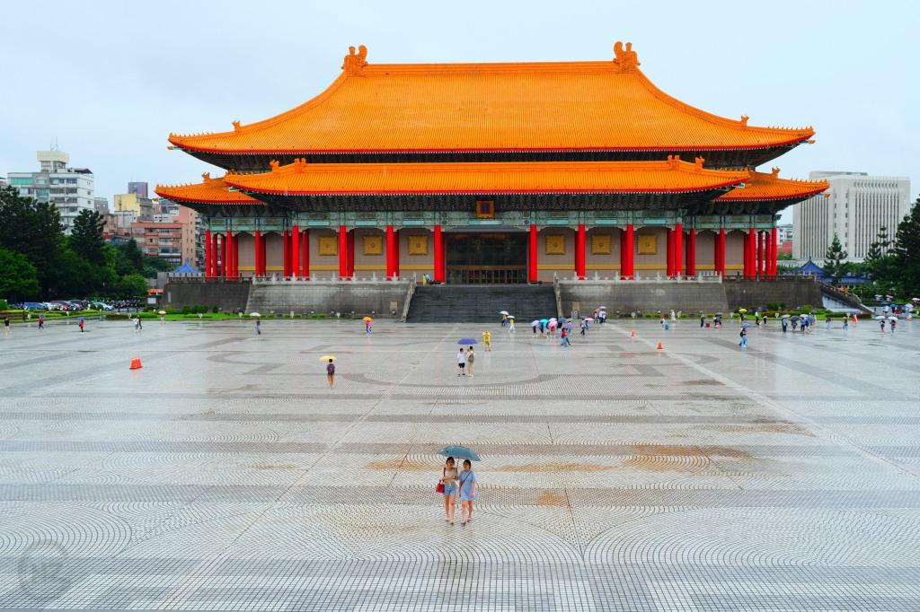 Reisen Taiwan Sightseeing Palast